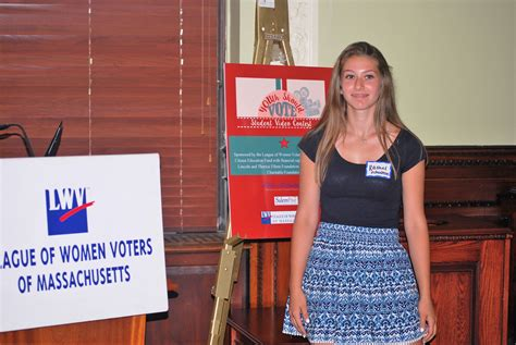 lwvma recognizes youth vote contest winners state house
