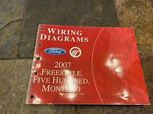 2007 Ford Freestyle Five Hundred Wiring Diagrams