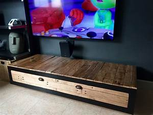 Meuble Industriel Ikea : hack d 39 un banc tv ikea lack ~ Teatrodelosmanantiales.com Idées de Décoration