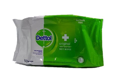 Dettol Wet Wipes Original (Large) -50 wipes - Tissue