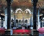 Jerusalem, the Dome of the Rock, interior decoration ...