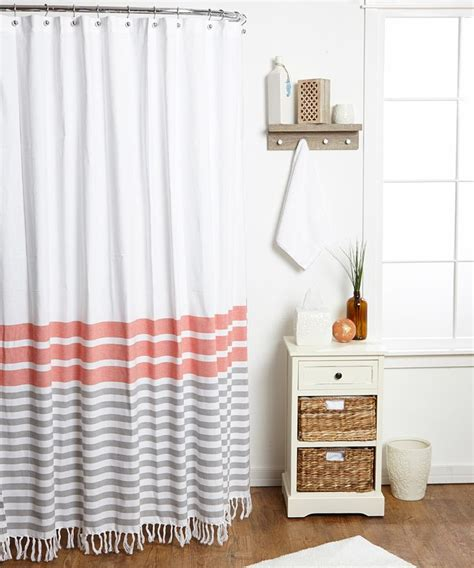 25 best ideas about coral shower curtains on