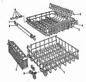 Rack Assembly Diagram  U0026 Parts List For Model 587798711