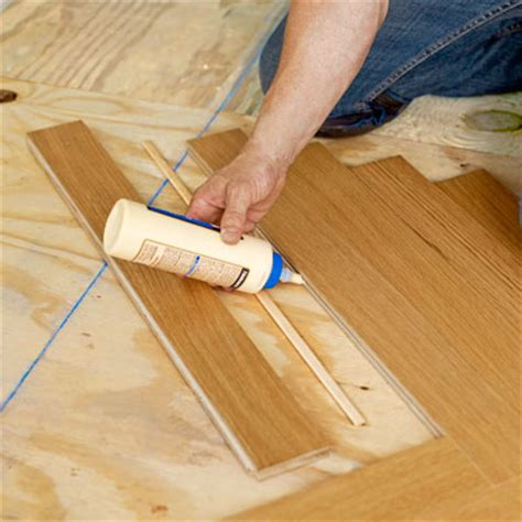 make hardwood floor spline backfill the empty triangles how to install a