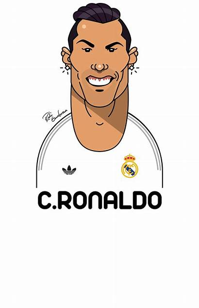 Funny Football Faces Behance Character Caricature Facial