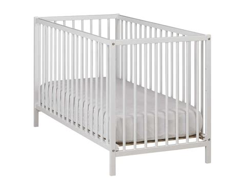 lit de bebe pas cher ikea lit b 233 b 233 60 x 120 cm calinou coloris blanc vente de lit b 233 b 233 conforama