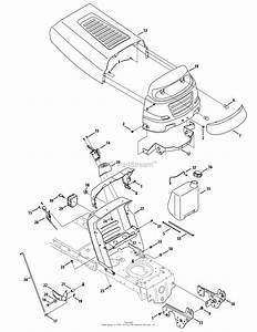 Mtd 13an771s099  247 289010   2010   Lt1500 13an771s099  2010  Parts Diagram For Hood  U0026 Dash