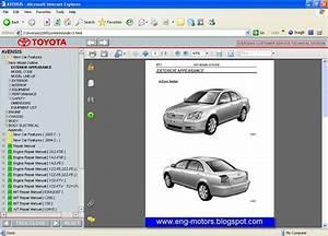 Toyota Avensis Repair Manual  8  2007