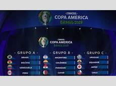 Fútbol Copa América Brasil queda encuadrada en el grupo