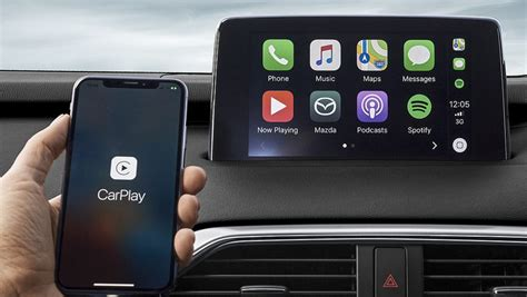 mazda apple carplay mazda introduces apple carplay android auto upgrade kits