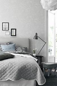 Tapeten In Grau : tapete in grau stilvolle vorschl ge f r wandgestaltung ~ Watch28wear.com Haus und Dekorationen