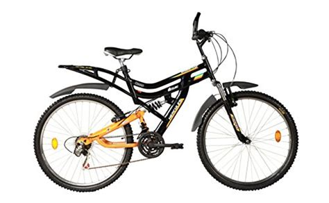 Modified Bicycle Price by Hercules Mtb Turbodrive Dynamite 6 Speed Black Bicycle