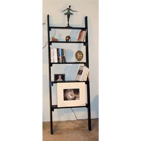 Leaning Bookcase by Furniture Fancy Leaning Bookcase For Your Book Organizer