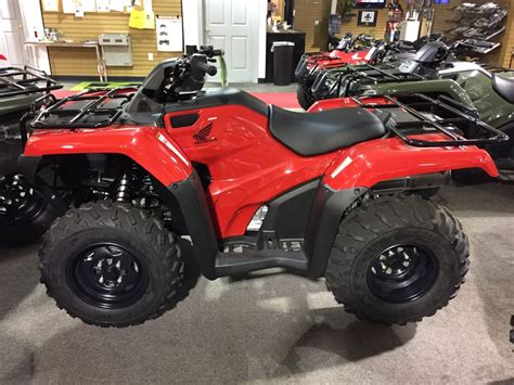 2015 Honda Fourtrax Rancher Es (trx420te1f) Motorcycle