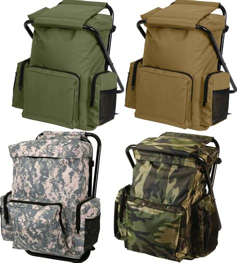 Stool Backpack - backpack stool combo cing outdoor pack ebay