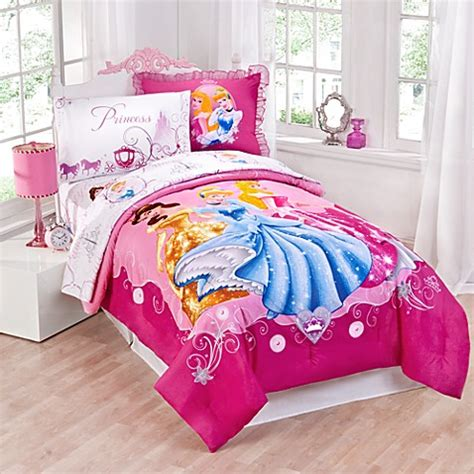 disney 174 princess comforter set bed bath beyond