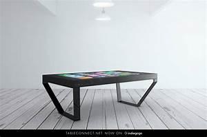 Kleiner Tisch Für Pc : tableconnect iphone tisch mit 60 zoll bildschirm bei indiegogo pc masters ~ Frokenaadalensverden.com Haus und Dekorationen
