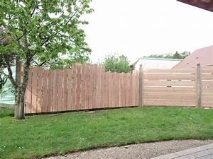 Cloture En Bois : cl ture en bois douglas ~ Premium-room.com Idées de Décoration