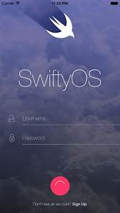 Animated Login Screen – TKSubmitTransition – SwiftyOS