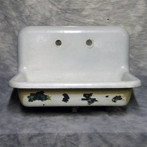 cast iron wall hung sink antique cast iron wall mounted kitchen sink