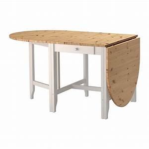 Table à Rabat Ikea : gamleby table rabat teint antique clair gris id es cuisine surf 39 late seignosse ~ Teatrodelosmanantiales.com Idées de Décoration