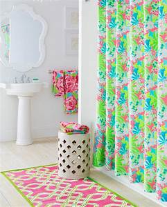 Lilly pulitzer bathroom inspiration eclectic bathroom for Lilly pulitzer bathroom
