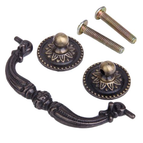 antique brass knobs for kitchen cabinets vintage antique bronze kitchen cabinet door handles drawer