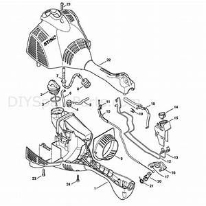 Stihl Fs 50 Brushcutter  Fs50  Parts Diagram  Engine Housing