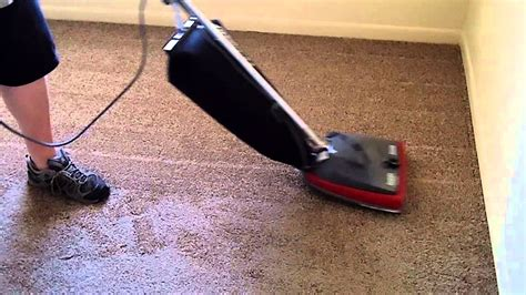 New Carpet Vacuumed With Sanitaire Sc679j Youtube