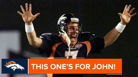 John Elway Helicopters In Super Bowl Xxxii Nfls