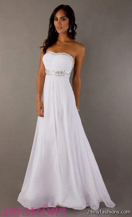 Elegant White Prom Dresses 20162017  B2b Fashion