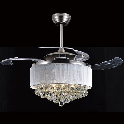 dining room ceiling fans with lights led ceiling fan light dining room ceiling fan crystal