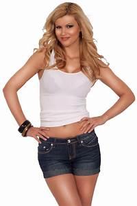 Short Daisy Dukes Denim Jeans Embellished Pockets Casual ...