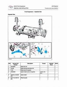 1995 Ford Ranger Front Suspension Diagram