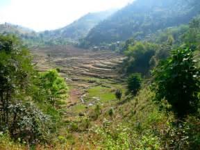 Nan Province Thailand Mountains