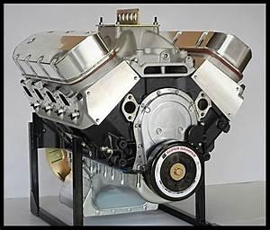 Bbc Chevy 572 Engine  Dart Block  Crate Motor 752 Hp Base Engine