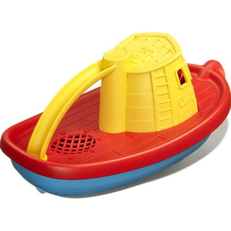 Yellow Tugboat by Tug Boat Yellow Monkey Fish Toys
