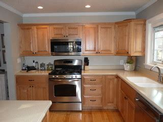 lights for kitchen cabinets orangey maple cabinets suggestions 9024