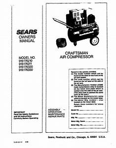 Sears 176 Owner U0026 39 S Manual Pdf Download