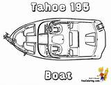 Boat Coloring Pages Yescoloring Boats Fishing Yacht Rugged Ship sketch template