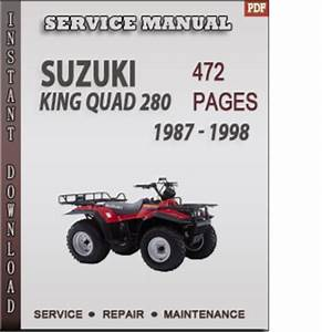 Suzuki King Quad 280 1987
