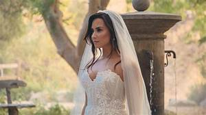 Demi lovato wears a wedding dress in her latest instagram for Demi lovato wedding dress
