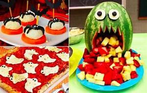 Recette Apéro Halloween : 32 nouvelles id es de recettes amusantes pour halloween la recette ~ Melissatoandfro.com Idées de Décoration