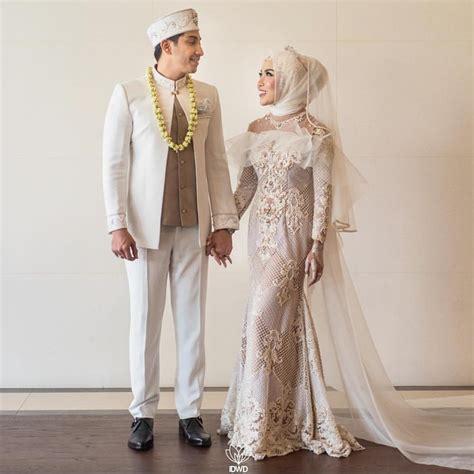 kebaya bordir khusus putih 14 model baju pengantin 2018 terbaru desain modern mewah