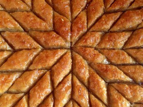 recettes de baklawa et miel