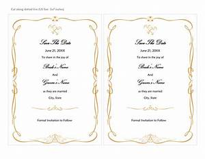 cards officecom With wedding invitation templates 2 per page
