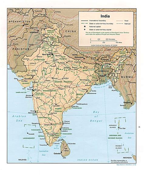 india map travel information tourism geography