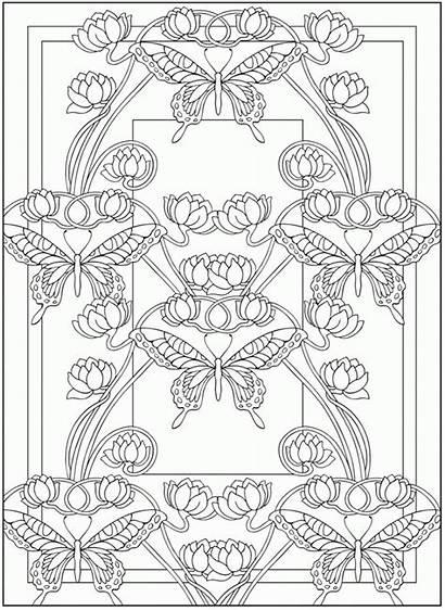 Coloring Pages Nouveau Dover Deco Books Publications