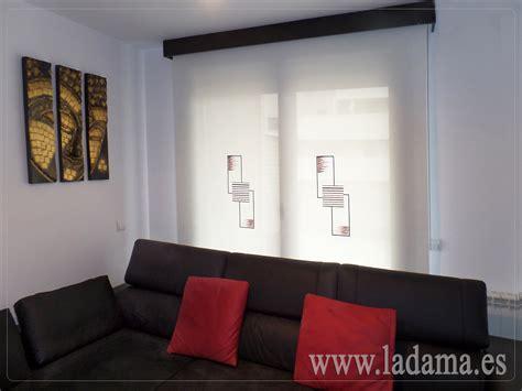 cortinas enrollables de screen bordado en zaragoza