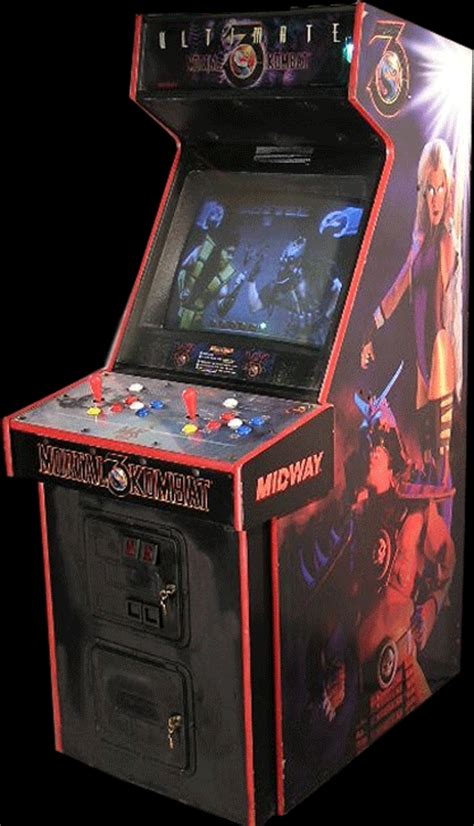 Mortal Kombat Arcade Cabinet by Ultimate Mortal Kombat 3 Rev 1 2 Rom